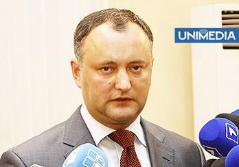 Sturza: Dodon este un răsfățat al politicii moldovenești, dar nu are șansa să împingă calul troian în Parlament
