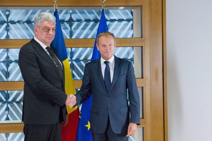 Tudose a discutat cu Tusk despre R. Moldova: Ne continuăm rolul de cel mai implicat stat în atragerea Moldovei pe calea UE