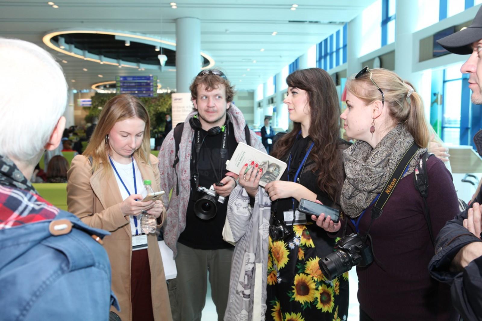 Tur la Aeroportul Chișinău pentru jurnaliști ruși