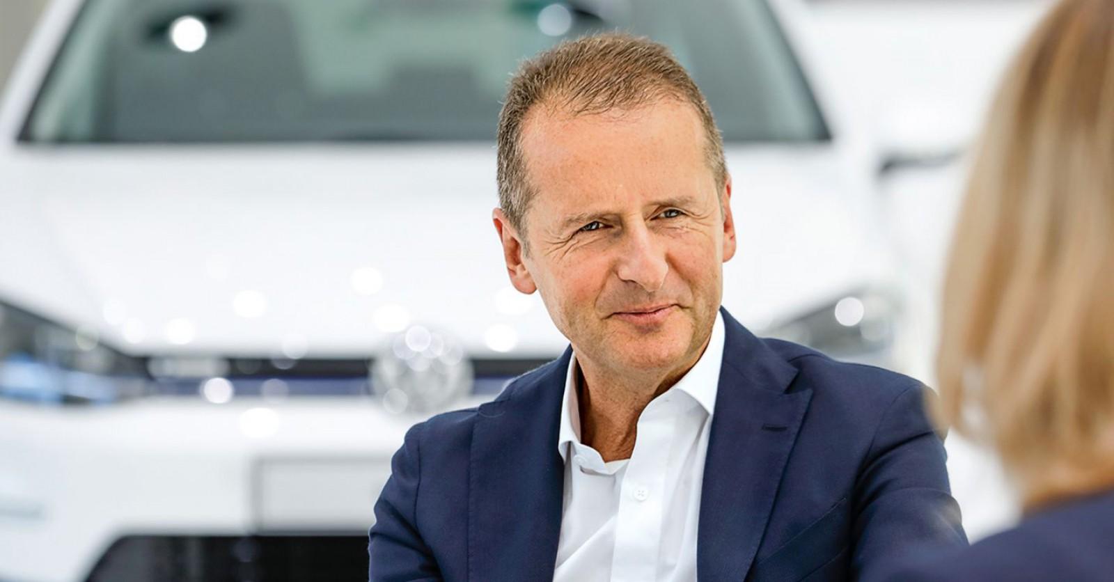 Ultima oră! Şeful VW Herbert Diess a fost numit drept nou director general al Volkswagen Group
