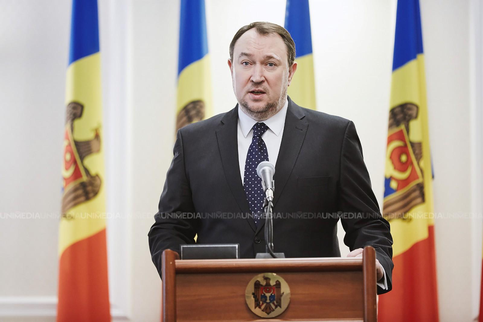 Alexandru Tănase și-a anunțat demisia din funcția de ministru al Justiției