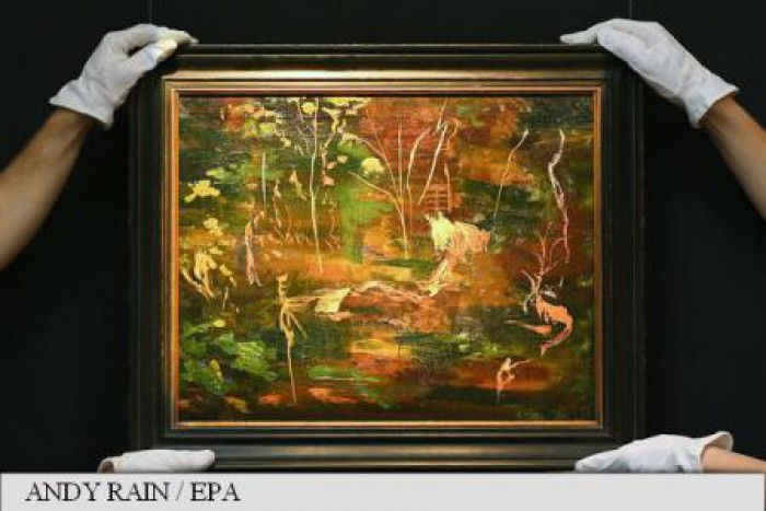 Ultimul tablou pictat înainte de moarte de Winston Churchill, vândut la licitație cu 400.000 de euro