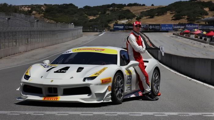 Un actor celebru de la Hollywood a început să participe în autosport cu maşini Ferrari