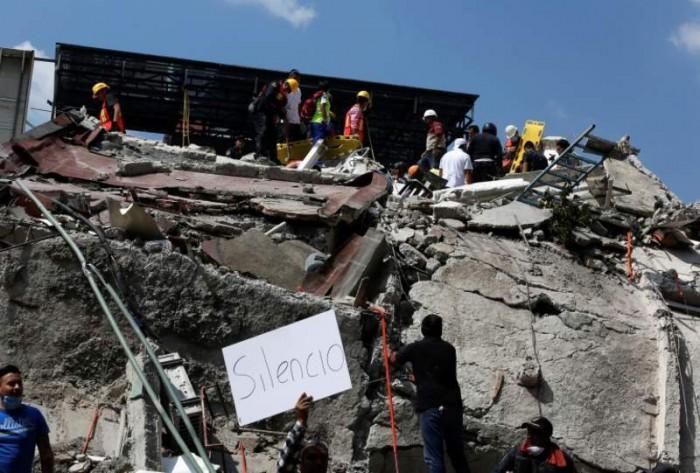 """Un nou cutremur în Mexic, de magnitudinea de 6,1. Localnică: """"Dumnezeule, ai milă!"""""""