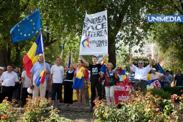Unioniștii vor organiza un marș la Chișinău. 10 000 de persoane vor participa la acțiune