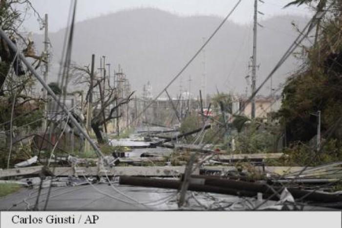 (foto) Uraganul Maria a provocat pagube de proporții și 10 morți la trecerea sa prin Caraibe