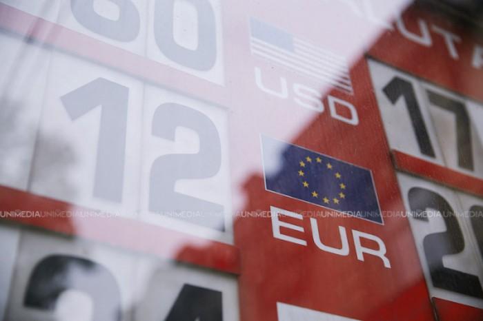 Valutele străine nu înregistrează schimbări esențiale. Cursul stabilit de BNM