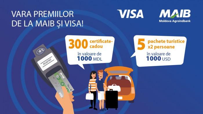 Vara premiilor de la Visa şi Moldova Agroindbank