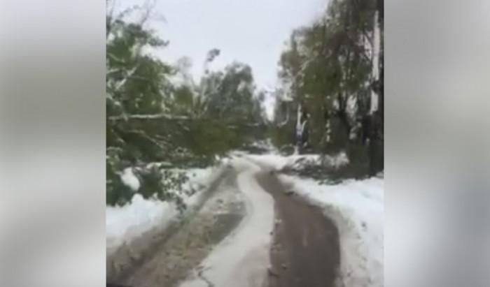 (video) Şoseaua Munceşti din Chişinău este de nerecunoscut. Iată dezastrul pe care l-a filmat un şofer