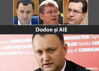 """(video) 11.11.11. AIE se întâlnește cu """"grupul Dodon"""": Sperăm să fie o dată norocoasă"""