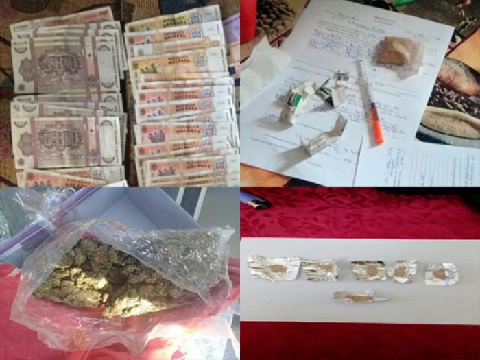 (video) 11 indivizi au fost reținuți pentru comercializarea drogurilor. Vindeau un gram de narcotice cu 4.000 de lei