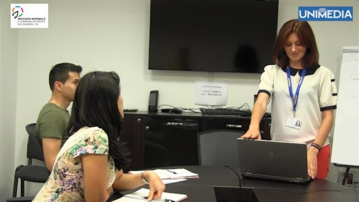 (video) Tatiana Svarisciuc, tânăra îndrăgostită de IT: Nu chiuliți de la ore