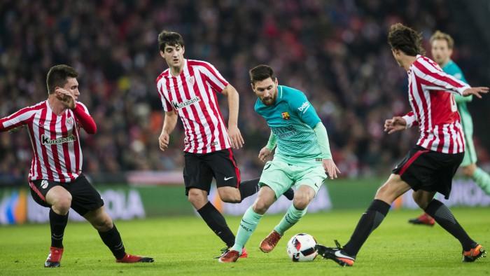 (video) Barcelona a suferit o înfrângere în prima manșă a optimilor Cupei Spaniei! Catalanii au cedat în fața lui Athletic Bilbao