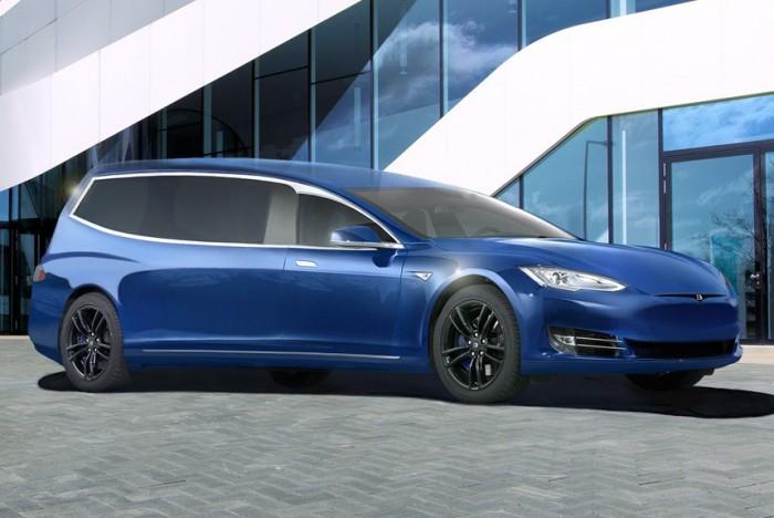 (video) Binz.E este noua maşină pentru ceremonii funerare creată dintr-o Tesla Model S