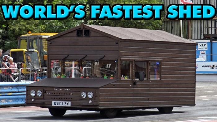 """(video) Cea mai rapidă """"cabană"""" pe roţi din lume are sistem de injecţie cu NO2 şi poate atinge 156 de km/h"""