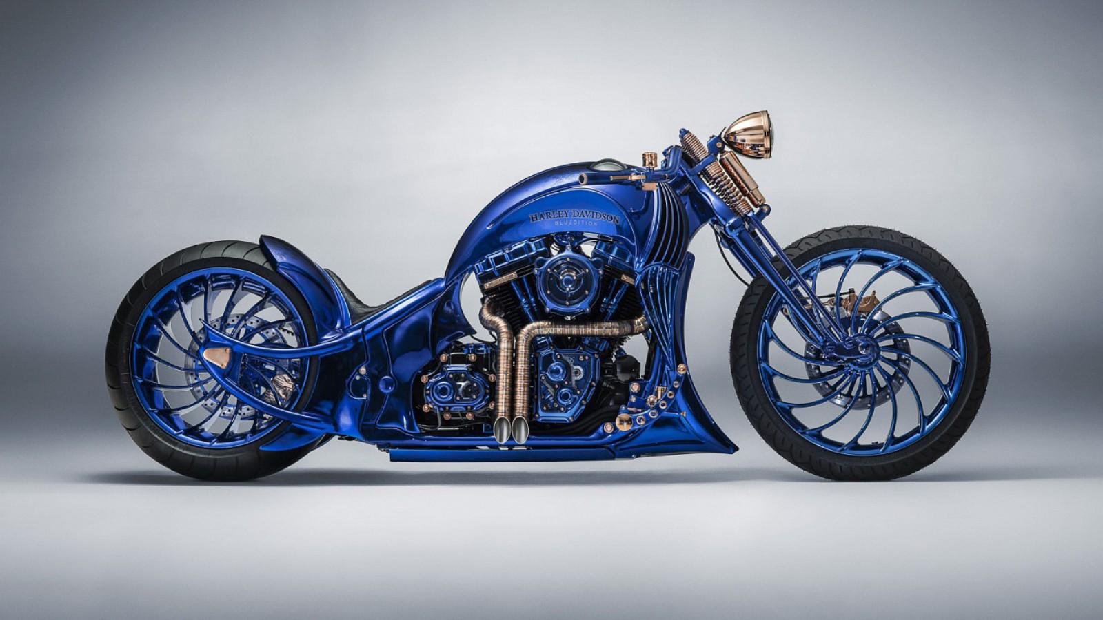 (video) Cea mai scumpă motocicletă Harley-Davidson din lume a fost făcută în Elveţia