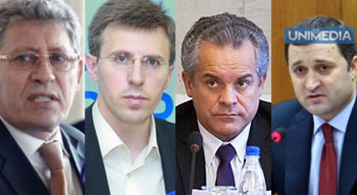 (video) Chirtoacă, Filat, Ghimpu și Plahotniuc într-un glas: Am aflat din presă!