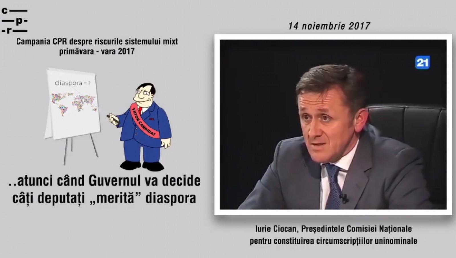 (video) CPR Moldova: Efectele negative ale noului sistem electoral recunoscute de autorități