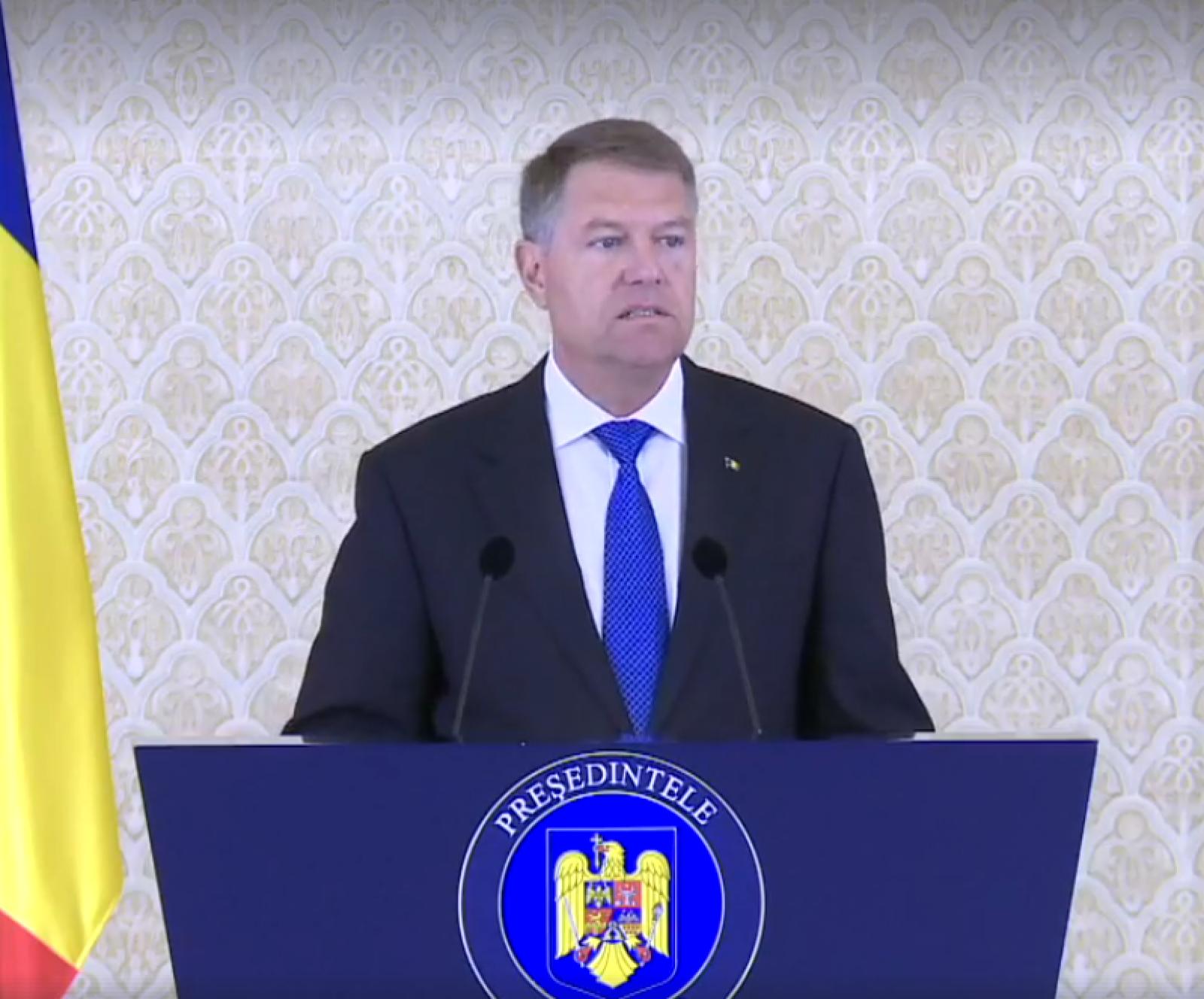 """(video) Decizia președintelui României în cazul revocării Laurei Codruţa Kovesi: """"Nu voi da curs propunerii ministrului Justiţiei. Motivele nu au fost de natură să mă convingă"""""""