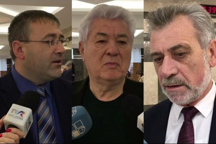 """(video) Deputați, despre mobilizarea forțelor civile în regiunea transnistreană; Voronin: """"Ce-i rău aici?"""""""