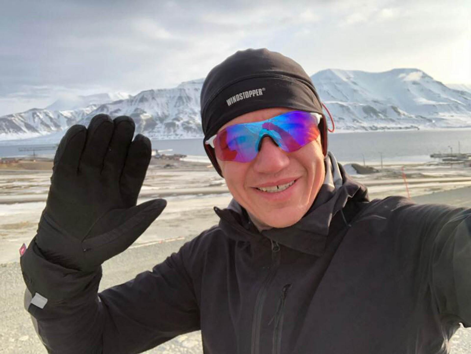 (video) Dmitrii Voloșin a participat la cel mai nordic maraton, la -30 de grade! Moldoveanul a ajuns al doilea la finiș