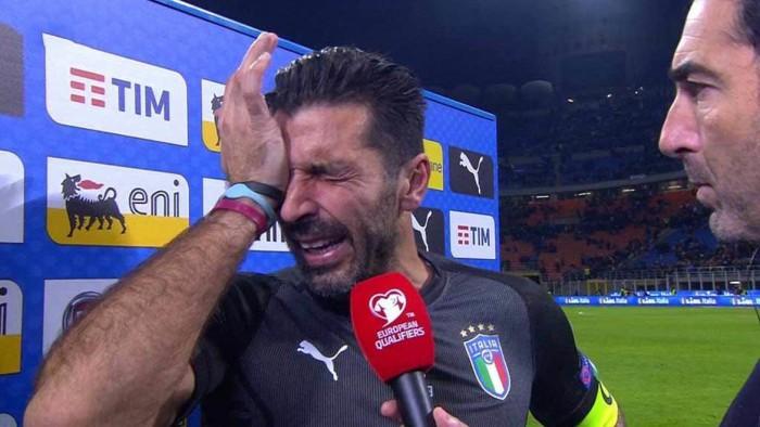 (video) Emoționant! Gianluigi Buffon și-a anunțat în lacrimi retragerea de la naționala Italiei după ratarea calificării la Campionatul Mondial