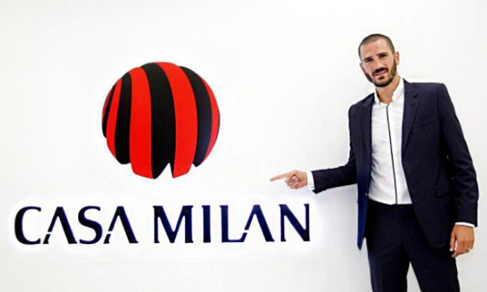 (video) Este oficial! Leonardo Bonucci s-a transferat de la Juventus la AC Milan