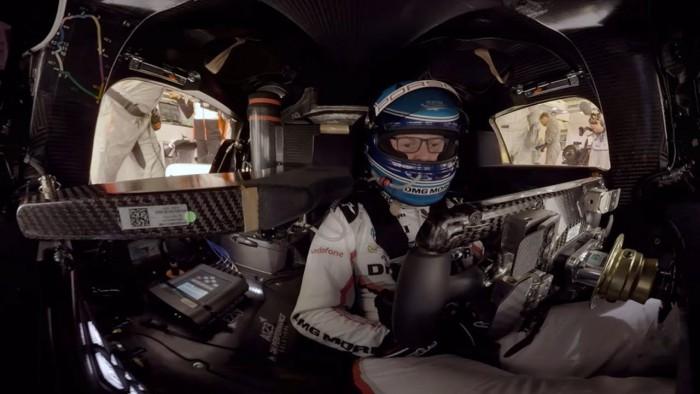 (video) Fă un tur cu un pilot Porsche pe circuitul unde se va desfăşura cursa 24h of Le Mans