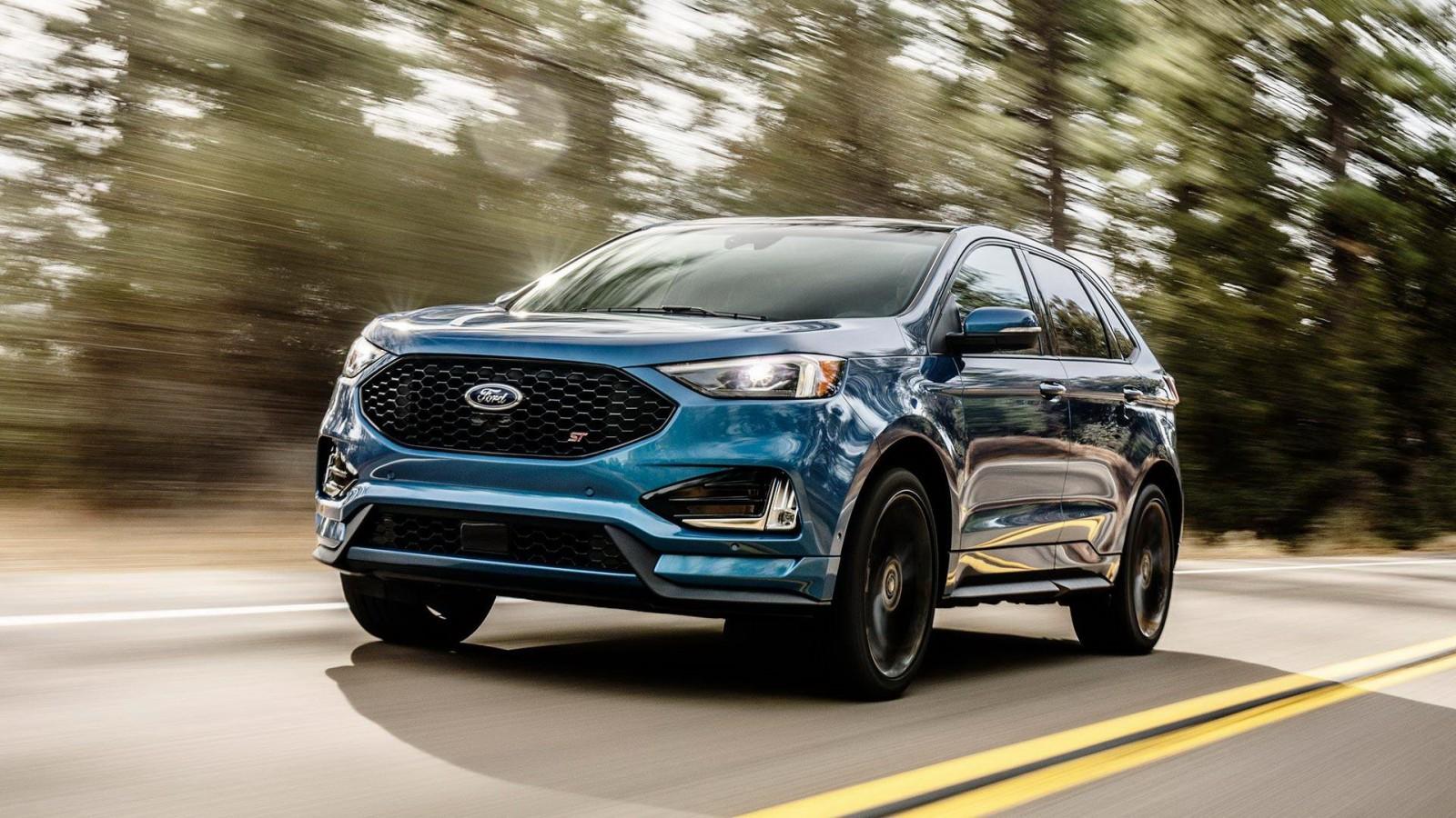 (video) Ford prezintă crossoverul Edge facelift şi versiunea sport Edge ST cu 340 de CP