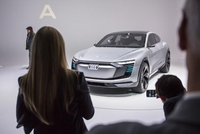 (video) Frankfurt 2017: Premieră mondială – Audi Elaine Concept