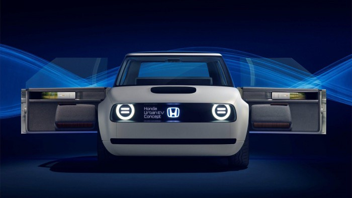 (video) Frankfurt 2017: Premieră mondială – Honda Urban EV Concept
