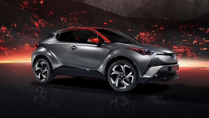 (video) Frankfurt 2017: Premieră mondială – Toyota C-HR Hy-Power Concept