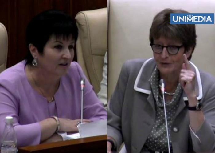 (video) Guțu o corectează pe Brasseur: Limba noastră este româna