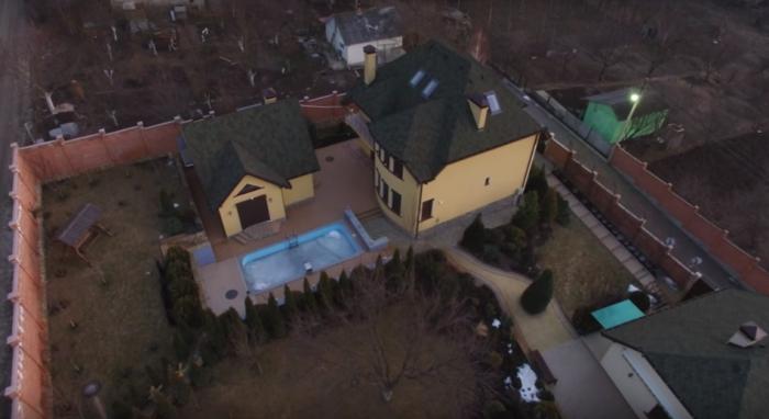 (video) Imagini cu drona. Cum arată casa Mitropolitului Vladimir