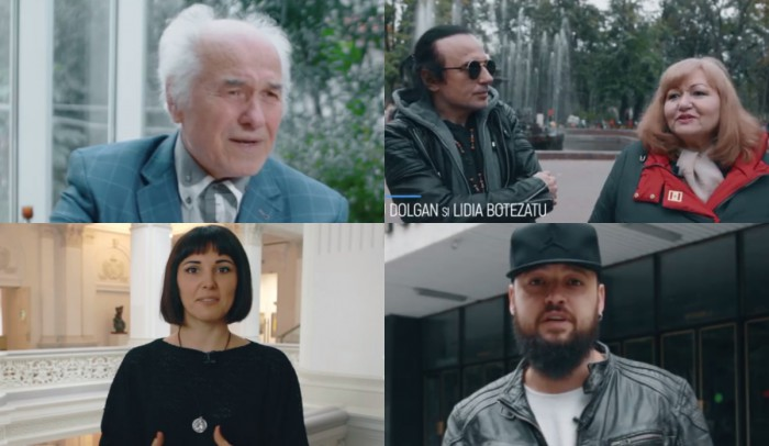 """(video) """"La mulți ani, Chișinău"""". Mesajele artiștilor cu ocazia celor 581 de ani de la prima atestare a Chișinăului"""