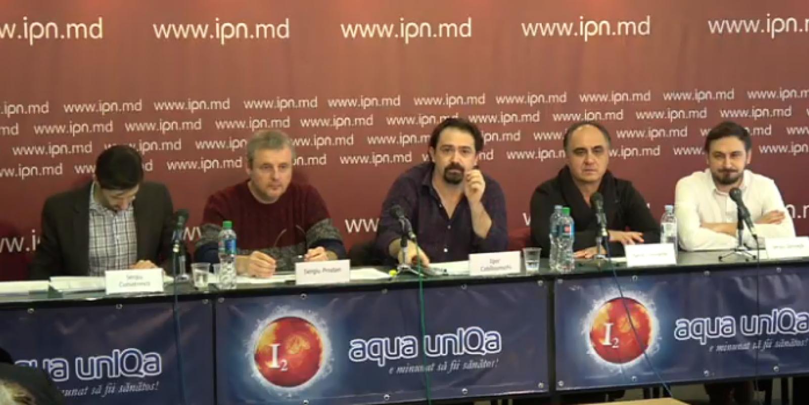 """(video) Mai mulți cineaști sesizează nereguli la Centrul Național al Cinematografiei din Moldova: """"În loc de CNC se construiește un mausoleu al dlui Jereghi"""""""