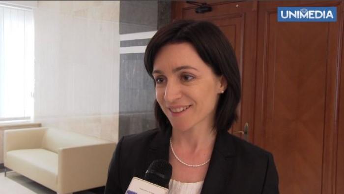 (video) Maia Sandu, încrezătoare că va obține susținere