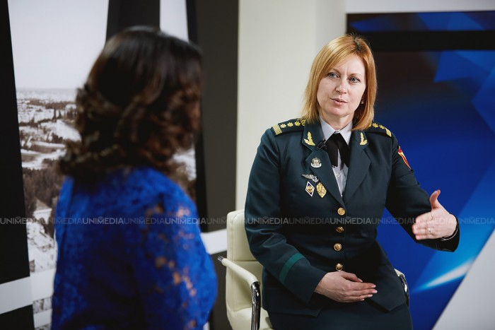 (video) Mariana Grama, prima femeie colonel din R. Moldova: Orice soldat visează să ajungă general