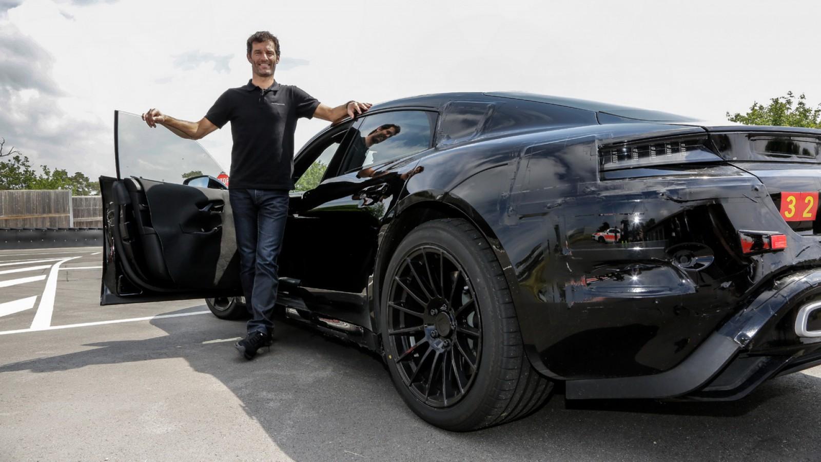 (video) Mark Webber a testat primul electromobil Porsche. Impresiile lăsate de condusul maşinii cu 600 de CP