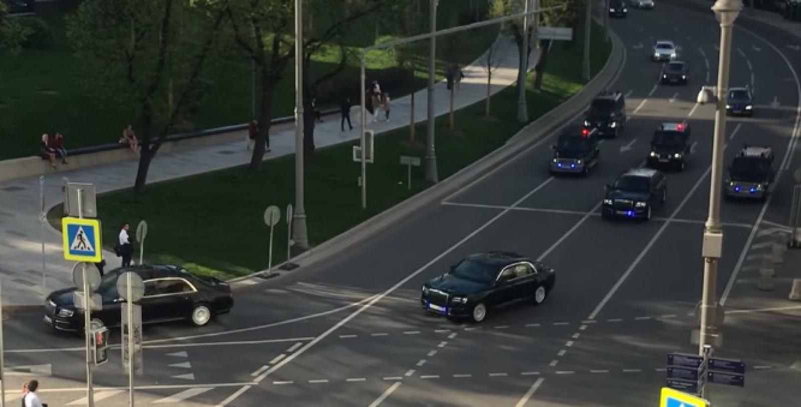 (video) Maşinile din care este compusă noua escortă prezidențială a lui Vladimir Putin
