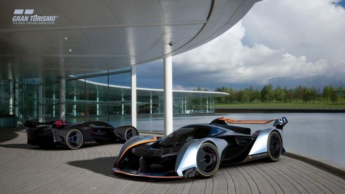 (video) McLaren a creat un hipercar virtual cu 1150 CP pentru jocul Gran Turismo Sport