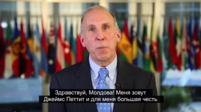 (video) Mesajul în română și rusă al noului ambasador SUA la Chișinău