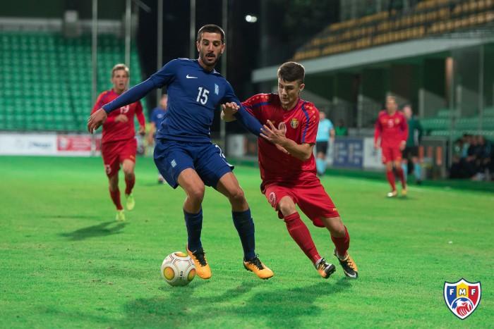 (video) Naționala de tineret a Moldovei a fost învinsă la Chișinău de Grecia în cadrul preliminariilor pentru Campionatul European din 2019