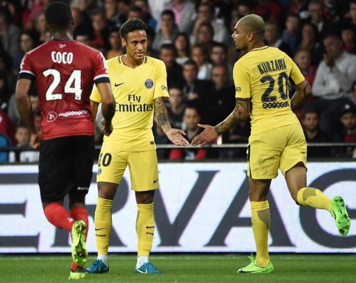 Neymar a marcat în primul meci pentru PSG! Parizienii s-au impus în partida cu Guingamp