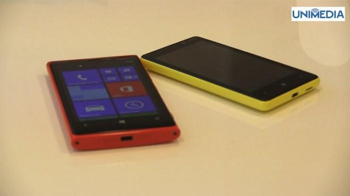 (video) Noi surprize de la Orange. Nokia Lumia 820 și Nokia Lumia 920 acum și în Moldova