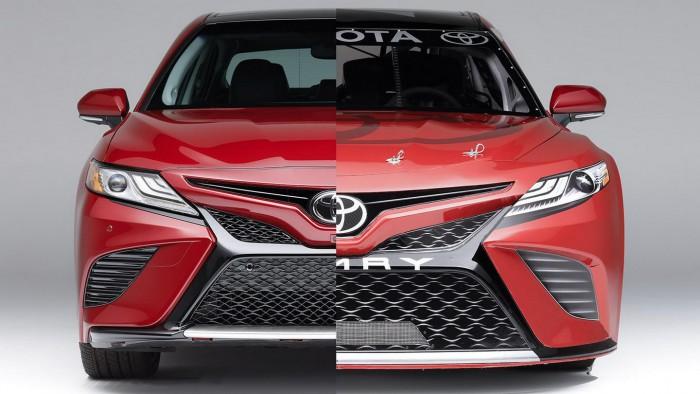 (video) Noua Toyota Camry a fost deja transformată în maşină NASCAR. Iată ce are sub capotă
