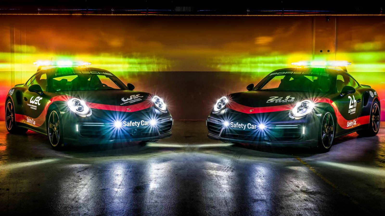 (video) Noul safety car pentru cursele de anduranță FIA WEC până în 2020 este Porsche 911 Turbo