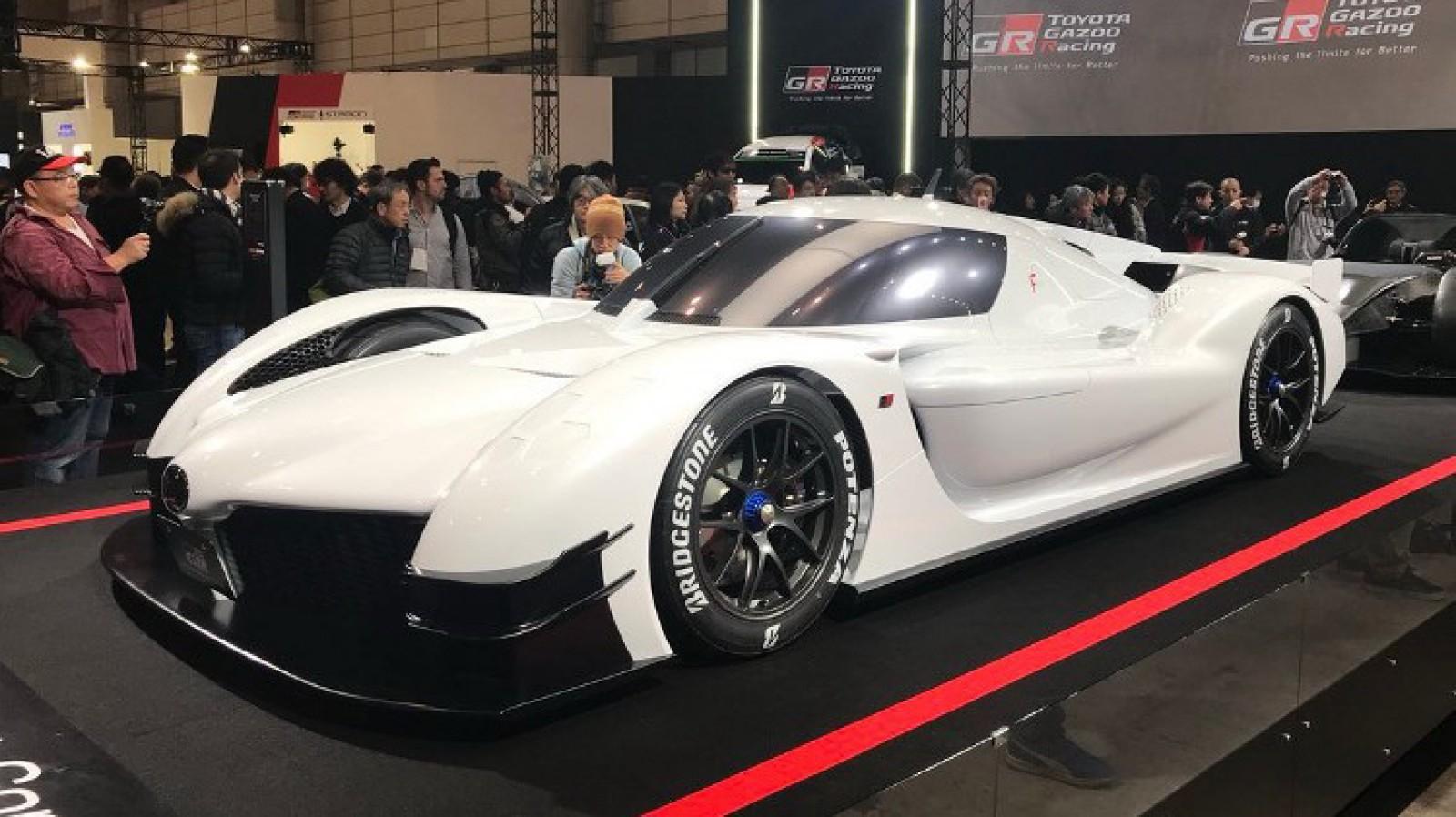 (video) Noul Toyota GR Super Sport Concept este o maşină care produce 1000 de cai putere!