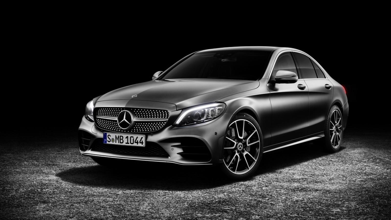 (video) Premieră mondială: Mercedes-Benz C-Class Sedan & Estate facelift