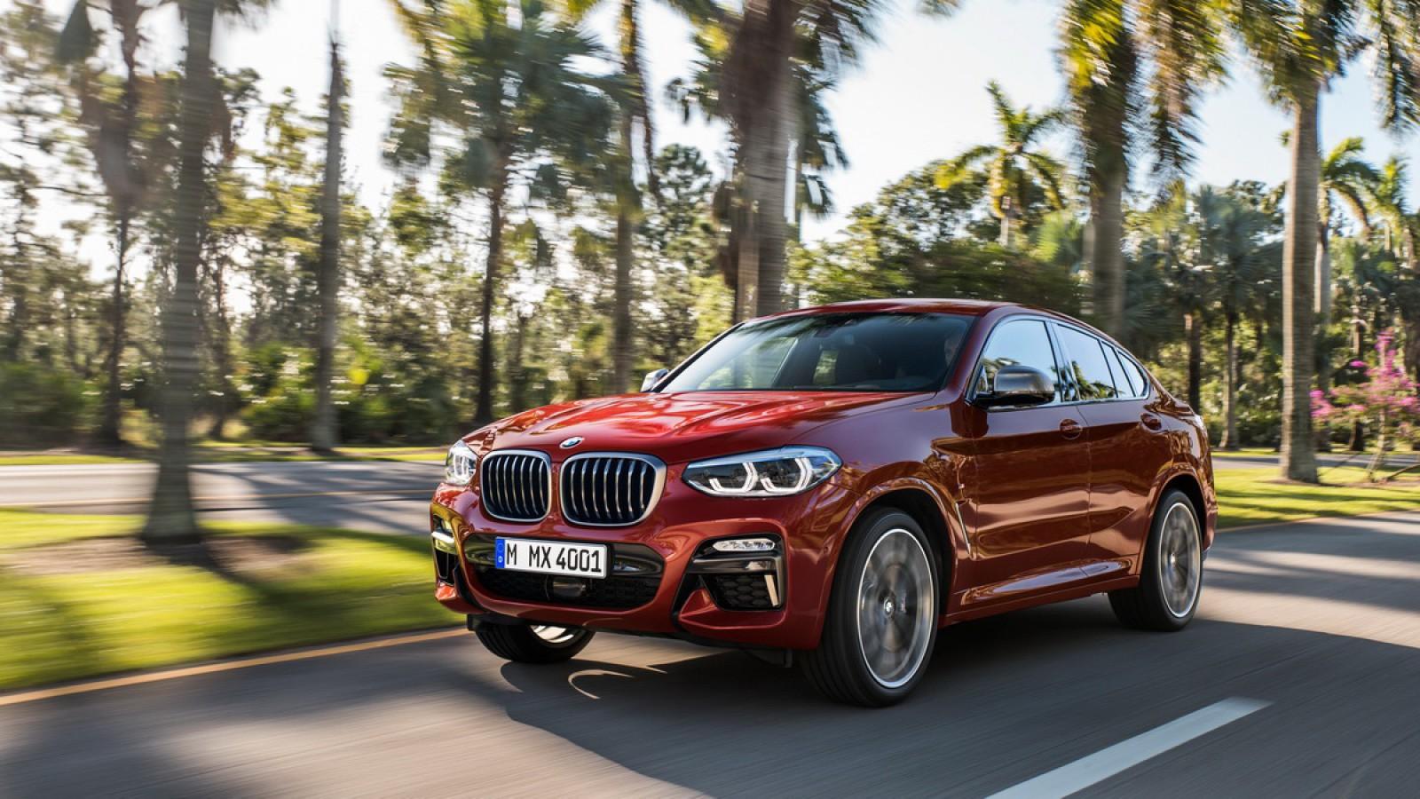 (video) Premieră mondială: Noul BMW X4 debutează în versiunile M40i şi M40d